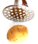 Kartoffelstampfer Edelstahl Fissler für hausgemachten Kartoffelbrei